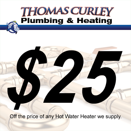 Save $25 off your water heater in Manhasset, Great Neck and surrounding areas in New York!