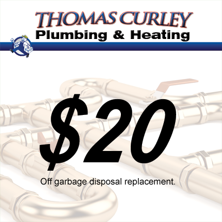 Save $20 off your garbage disposal in Manhasset, Great Neck and surrounding areas in New York!